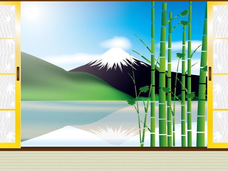 竹のようにスクスク育つ