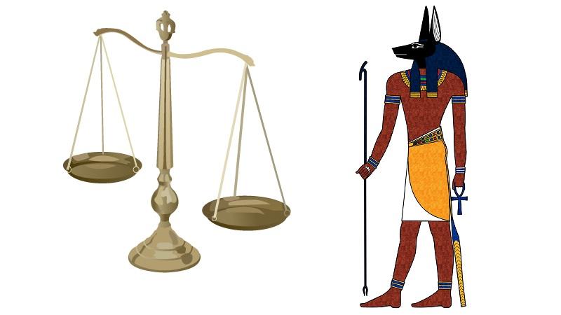 アヌビスと天秤